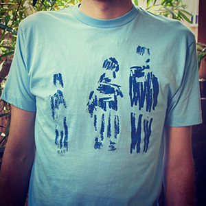 ox on the roof_blue ghost family_shear shirt 300